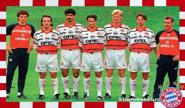 состав команды 1999 года