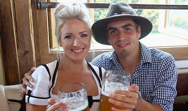 филипп лам с женой