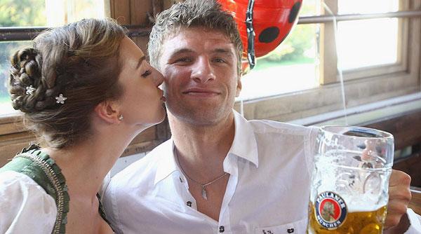 томас с женой
