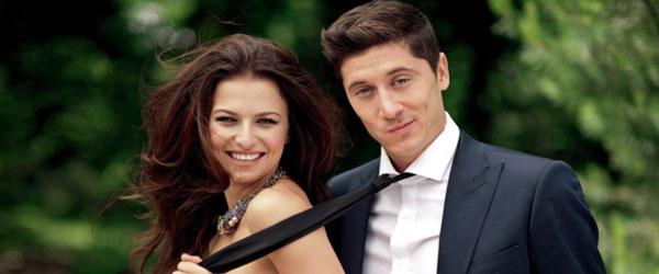 роберт левандовски и его жена анна